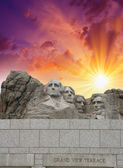 Mount Rushmore - South Dakota. — Stockfoto