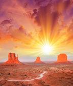 The Monument Valley, Utah. — Stock fotografie