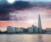 Panoráma města londýn, včetně radnice — Stock fotografie