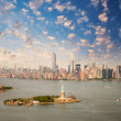 New York skyline with Statue of Liberty — Stock Photo #41017509