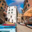 Stock Photo: Quaint village of Cinque Terre