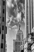 Empire State Building skyscraper — Stock Photo