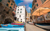 Quaint village of Cinque Terre — Stock Photo
