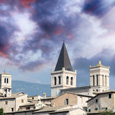 Umbria town, Italy — Stock Photo