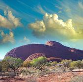 австралийской глубинке — Стоковое фото