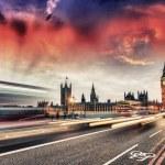 Westminster Bridge - London — 图库照片
