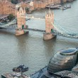 London. Aerial view — Stock Photo