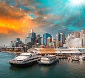 Aquarium Ferry Wharf — Stock Photo