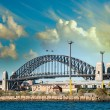 Sydney harbour bridge — Stockfoto
