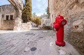 Red Hydrant — Stockfoto
