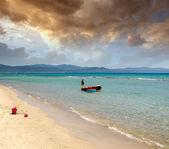Beautiful seascape scenario. — Stock Photo