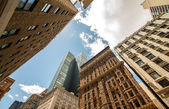 Manhattan, New York. City skyscrapers and skyline — Foto Stock