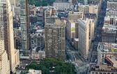 Manhattanie, nowy jork. — Zdjęcie stockowe