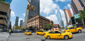 Yellow cabs , New York — Stock Photo