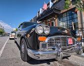 Velho táxi vintage — Foto Stock