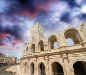The Roman Arena, Arles, France — Stock Photo
