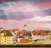 Budovy z východní evropy — Stock fotografie