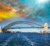 Sydney. Harbour Bridge — Stockfoto