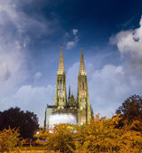 The Votive Church in Vienna — Stock Photo