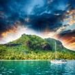 Stock Photo: Polynesia.