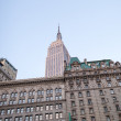 Empire State Building facade — Stock Photo