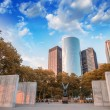 Memorial in Battery Park, New York — Stock Photo