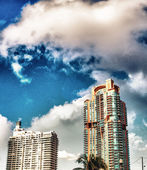 Skyline of Miami. — Stock Photo