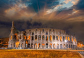 Colosseum in Rome. — Stock Photo