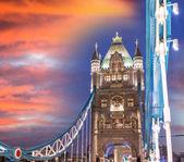 Tower of Tower Bridge — Stock Photo