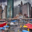 Pier 17 and South Street Seaport — Stock Photo