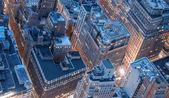 New York City skyline with urban skyscrapers — Foto Stock