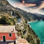 Scenic Ligurian Coast of Cinque Terre — Stock Photo #43008135