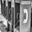 Row of Public Telephones — Stock Photo