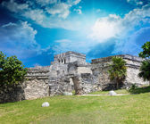 Ancient ruins of Tulum — Stock Photo