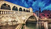 Rialtobrug in venetië — Stockfoto