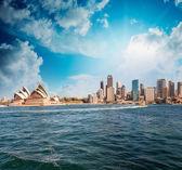 Panoramę z sydney — Zdjęcie stockowe