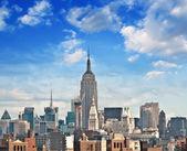 Manhattan Skyscrapers — Stock Photo