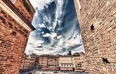 Piazza del Campo, Siena — Stock Photo