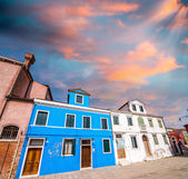 Bright colors of Burano. — Stock Photo