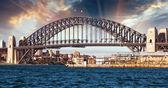 Sydney harbour bridge — Stockfoto