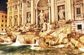 Trevi Fountain - Rome, Italy — Stock Photo