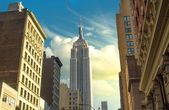 Manhattan gökdelen — Stok fotoğraf