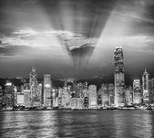 Hong Kong Island Skyscrapers — Stock Photo