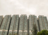 Buildings in Hong Kong Outskirts — Stock Photo