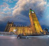 Westminster Palace and Big Ben — Stock Photo