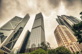 Office Buildings on a cloudy day. — Stock Photo