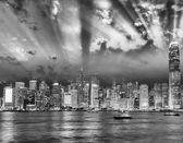 Hong Kong night view — Stock Photo