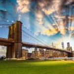 Manhattan from Brooklyn Bridge Park. — Stock Photo #47233609