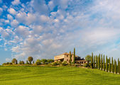 Tuscany - Landscape panorama — Stock Photo