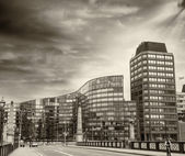 Buildings along Lambeth Bridge — Foto Stock